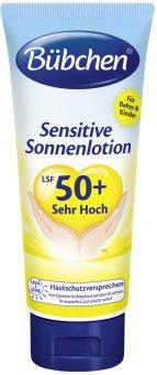 Mléko na opalování OF 50 Sensitive Bübchen