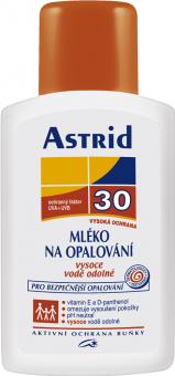 Mléko na opalování s betakarotenem OF 30 Astrid