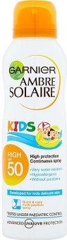 Mléko na opalování ve spreji pro děti OF 50+ Ambre Solaire Garnier