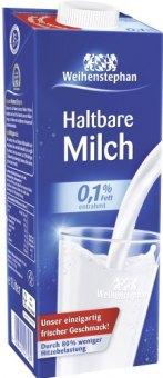 Mléko nízkotučné Weihenstephan
