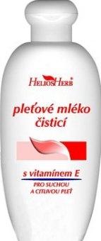 Mléko pleťové čistící Helios Herb