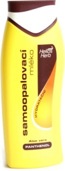 Mléko samoopalovací Helios Herb