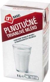 Trvanlivé mléko Basic - 3,5% plnotučné