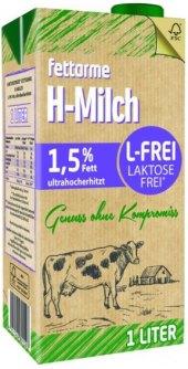 Mléko trvanlivé bez laktózy H-milch - 1,5% polotučné