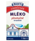 Trvanlivé mléko Jihočeské Madeta - 3,5% plnotučné