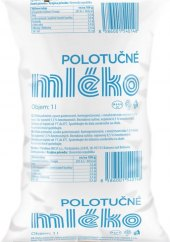 Mléko čerstvé v sáčku Milsy - 1,5% polotučné