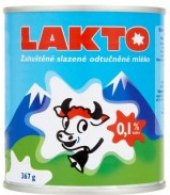 Mléko kondenzované Lakto Laktos