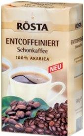 Mletá káva bez kofeinu Rösta