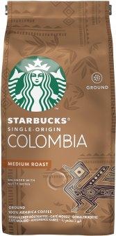 Mletá káva Colombia Starbucks