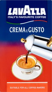 Mletá káva Crema e Gusto Lavazza
