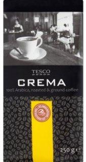 Mletá káva Crema Tesco