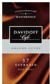 Mletá káva Espresso Davidoff Grand Cuvée