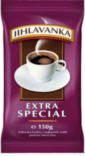 Mletá káva extra speciál Jihlavanka