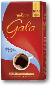 Mletá káva Mild Eduscho Gala
