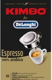 Mletá káva porcovaná Kimbo DeLonghi