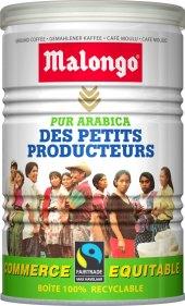 Mletá káva Pur Arabica Malongo