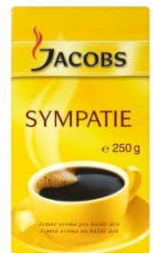 Mletá káva Sympatie Jacobs