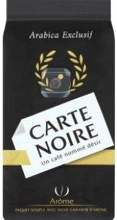 Mleté kávy Carte Noire