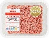 Mleté maso Tesco Value