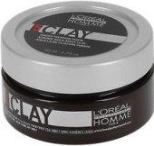 Modelovací hlína na vlasy Professionnel Homme L'Oréal