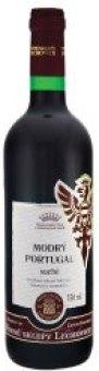 Víno Modrý Portugal Vinné sklepy Lechovice