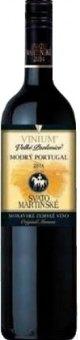 Víno Modrý Portugal Vinium Velké Pavlovice - svatomartinské