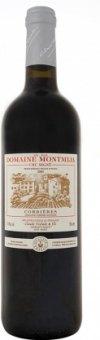 Víno červené Corbiéres AOC Domaine Montmija