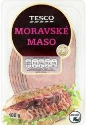 Moravské maso uzené Tesco