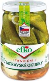 Moravské okurky Efko