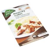 Moravský vrabec se zelím Chef menu