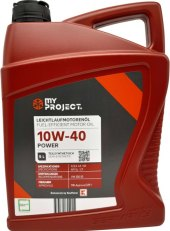 Motorový olej 10W - 40 My Project