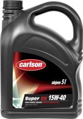Motorový olej SAE 15W - 40 Carlson Super GX