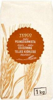 Mouka pšeničná celozrnná Tesco