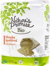 Mouka špaldová celozrnná bio Nature's Promise