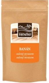 Mrazem sušený banán Farmland