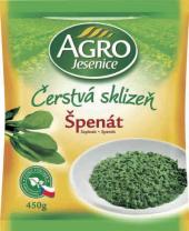 Špenát mražený Agro Jesenice