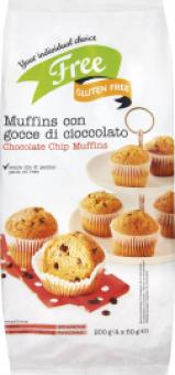 Muffiny bez lepku Billa Gluten Free
