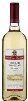 Víno Müller Thurgau Zámecké vinařství Bzenec
