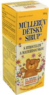 Müllerův dětský sirup Dr. Müller