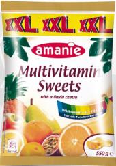 Bonbony multivitamínové Amanie