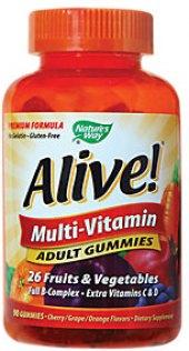Vitamíny Gummies Alive!