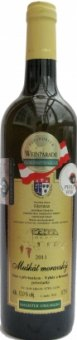 Víno Muškát moravský Vinařství Dufek - výběr z hroznů