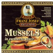 Mušle Exclusive Kaiser Franz Josef