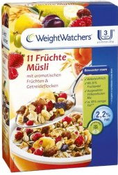 Müsli 11 druhů ovoce Weight Watchers