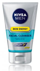 Mycí gel pleťový pánský Skin Energy Q10 Men Nivea