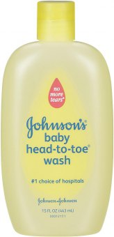 Mycí gel na tělo a vlásky dětská Baby Johnson's