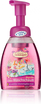 Pěna mycí na ruce se třpytkami Prinzessin Sternenzauber