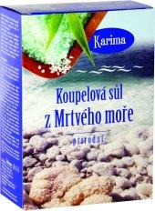 Mýdlo se solí z mrtvého moře  Karima