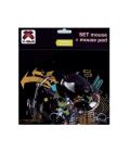 Myš + podložka pod myš X-Site