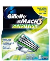 Náhradní hlavice pánské Sensitive Mach 3 Gillette